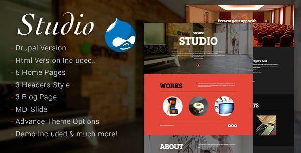 Studio v1.0 - Multipurpose Technology Drupal Theme