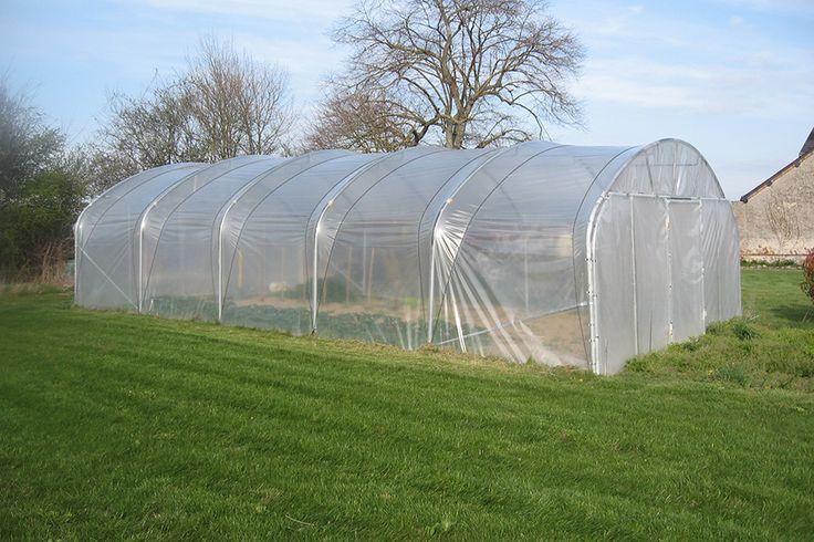 Tunnel de jardin prokit largeur 6 m tres for Jardin couvert