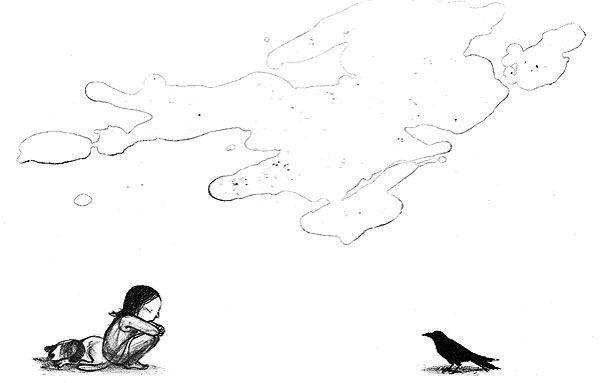 Suzy Lee Books :: Bookworks :: L'Oiseau Noir :: page02
