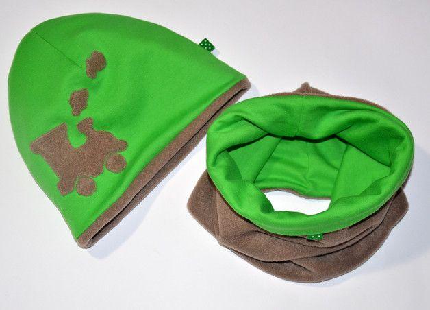 Zimowy ciepły modny - Rozin - Czapki dla dzieci