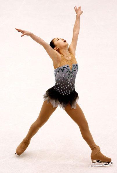 Caroline Zhang - ISU Four Continents Figure Skating Championship - Grey Figure Skating / Ice Skating dress inspiration for Sk8 Gr8 Designs
