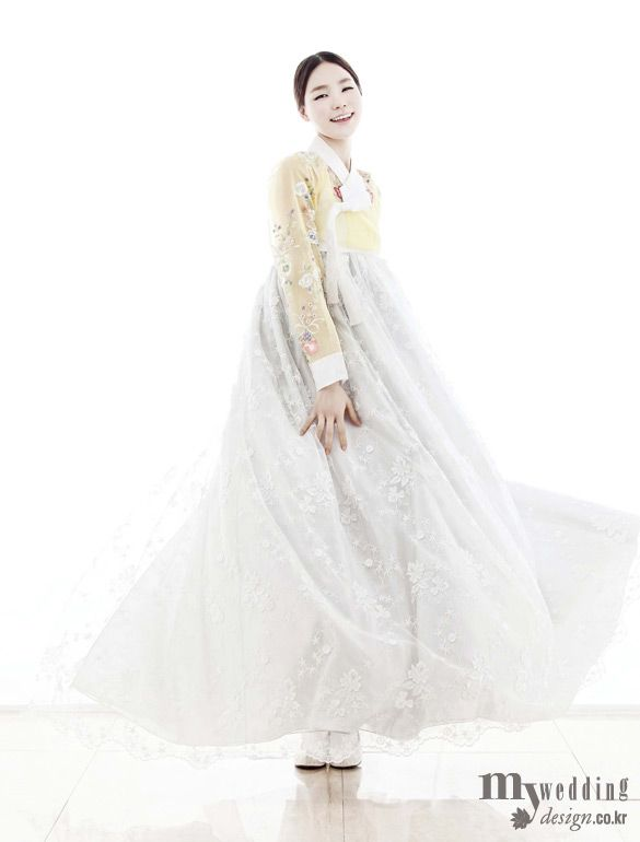 My wedding_ 바이단 소녀의 미소처럼 달콤한 한복