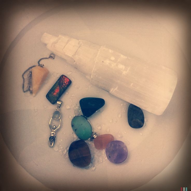 Charging your crystals | Live Essentials