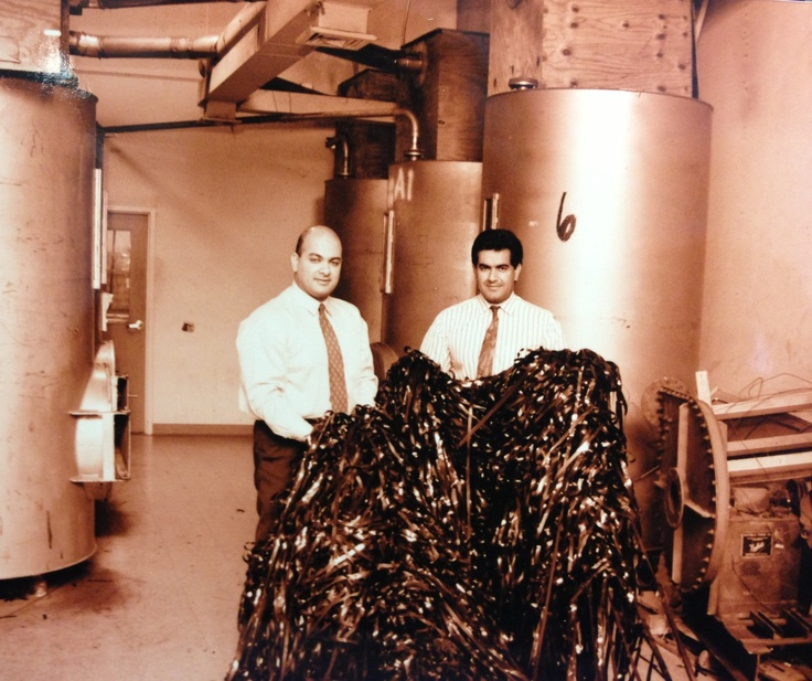 1993 at the older Lacerta Group facility where we first began recycling data storage products!