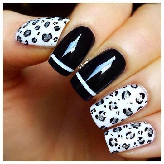 Η Τέχνη στα Νύχια σε Άσπρο-Μαύρο! ~ Woman Meeting Point | Μόδα, Μαλλιά, Μακιγιάζ, Ομορφιά