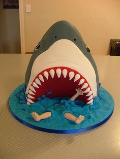 My boy would think this - the best cake EVER @Dawn Tooke - I know your talented self can make this!!! : ) this is super cool!!