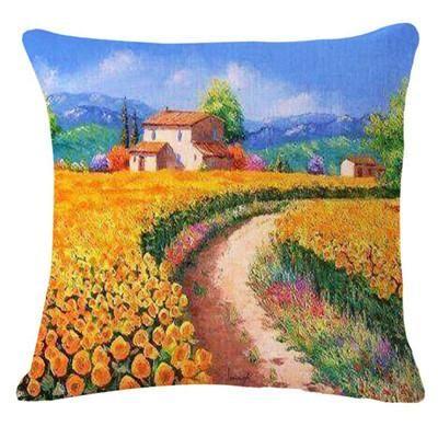 [EBay] Top Sale European Fashion Lavender Printed Pillow Bed Sofa Cushion Home Decorative Throw Pillow Fundas Para Almofadas Cojines
