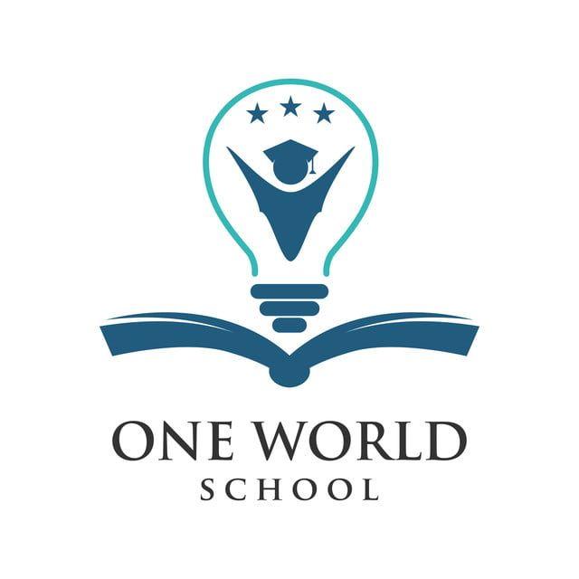 One Word School Logo Education Logo Design Design School Logo Logo Word