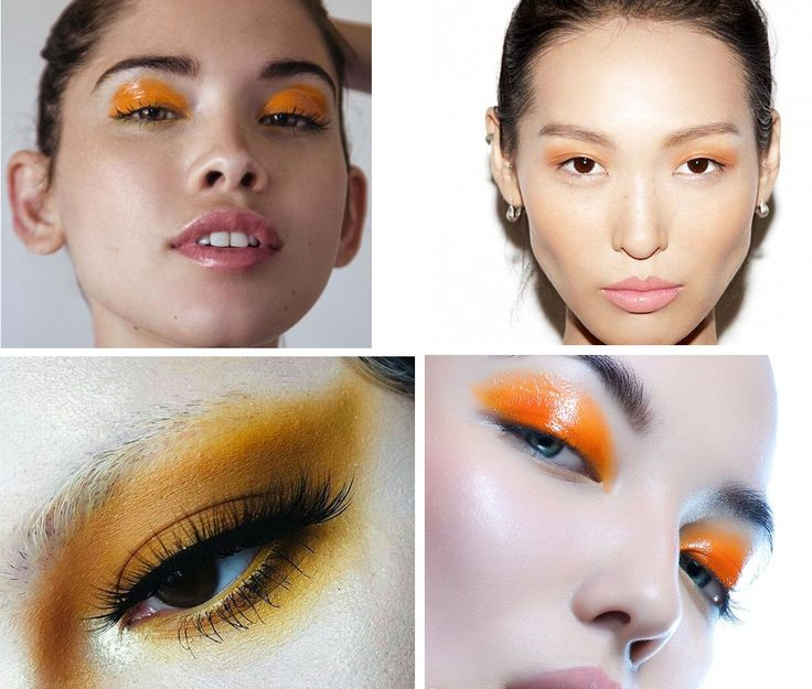 Moda no Sapatinho: orange lids