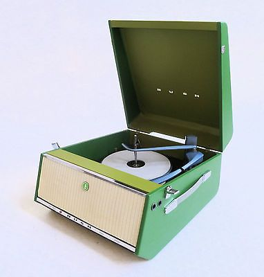 """STUNNING VINTAGE 1960'S BUSH """"SRP31"""" RECORD PLAYER - FULLY SERVICED"""
