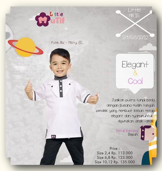 Baju Anak Little Mutif Boy LMB-15