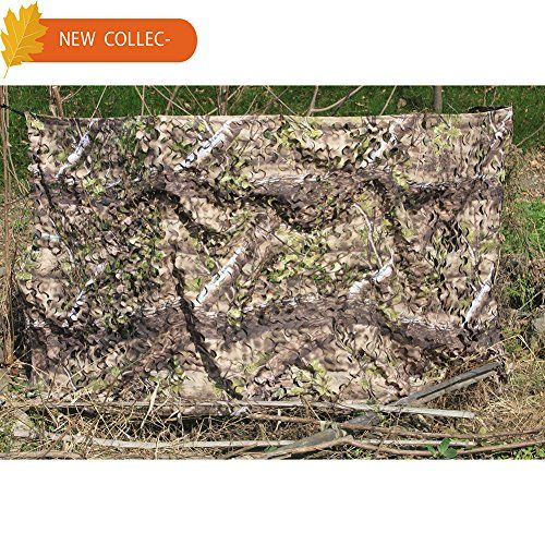 AUSCAMOTEK 300D Woodland Camo Netting Camping Hunting Camouflage Net for Outdoor Use.   https://huntinggearsuperstore.com/product/auscamotek-300d-woodland-camo-netting-camping-hunting-camouflage-net-for-outdoor-use/