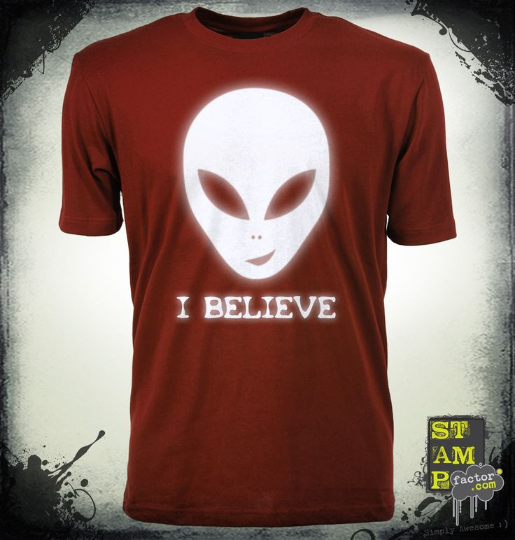 I Believe (Ghost White) 2014 Collection - © stampfactor.com *T-SHIRT PREVIEW*