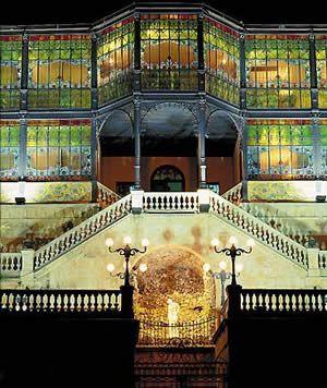 Casa Lis, in Salamanca, Spain Museum of Art Nouveau and Art Deco
