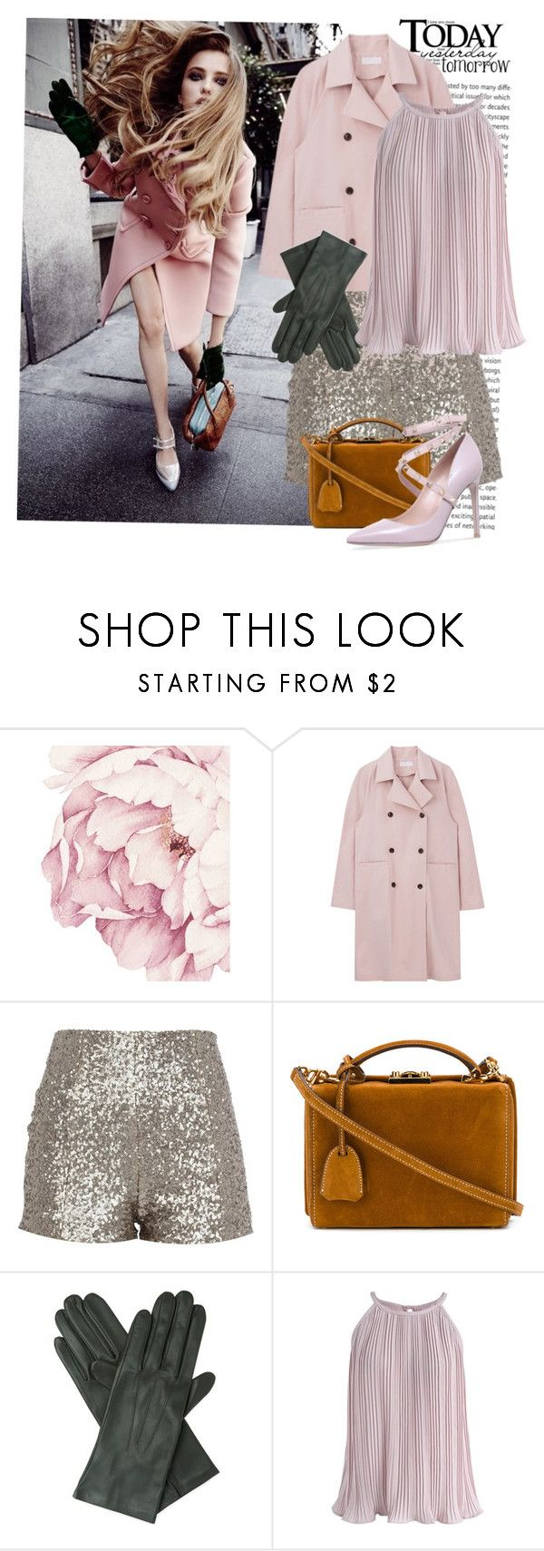 """""""Haute couture"""" by lou-lou-di ❤ liked on Polyvore featuring Mark Cross, Dents, Chicwish and Valentino"""