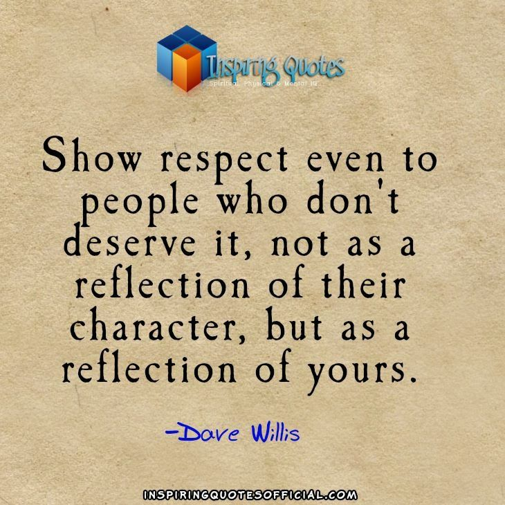 56 Best Respect Quotes With Images You Must See: 71 Best Images About Respect On Pinterest