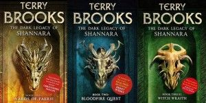 The Dark Legacy of Shannara. Book three, Witch Wraith by Terry Brooks 2013.  Enjoy his latest novel today.