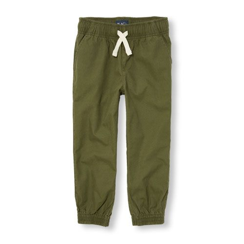 s Boys Jogger Pants - Green - The Children's Place