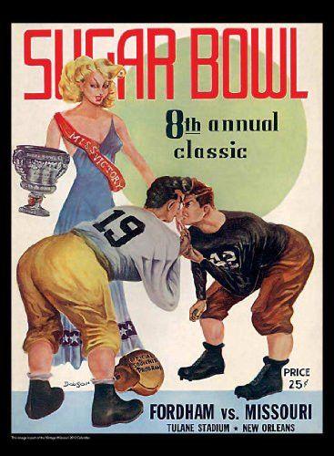 Missouri Tigers 2013 Vintage Football Calendar