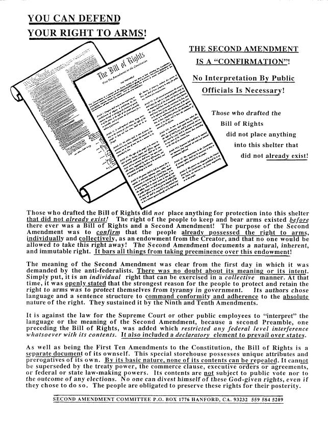 An newspaper article showing an amendment in action this