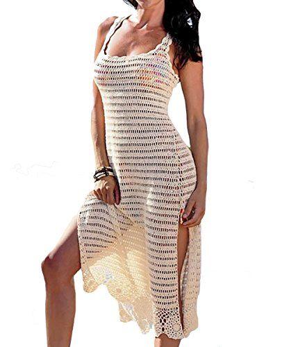 0b074956afe5f Pin by Sunshine&Shimmer on Summer Beach Party Cover up Dress   Crochet beach  dress, Beach crochet, Crochet skirts