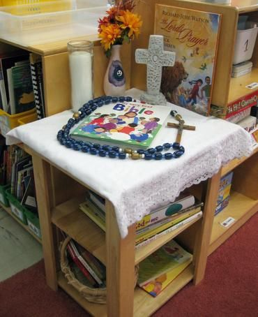 classroom prayer table - Google Search