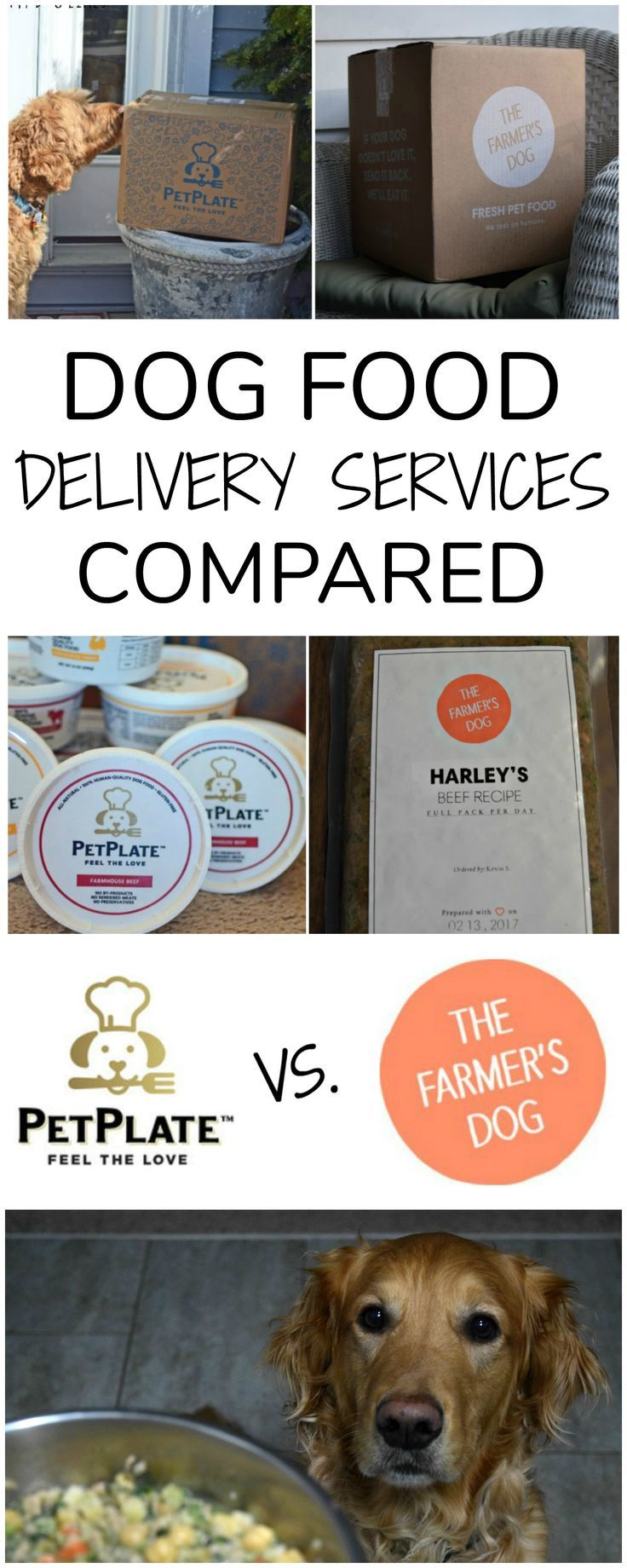 Petplate Vs The Farmer S Dog Homemade Dog Food Delivery Compared Dog Food Recipes Dog Food Delivery Dog Biscuit Recipes