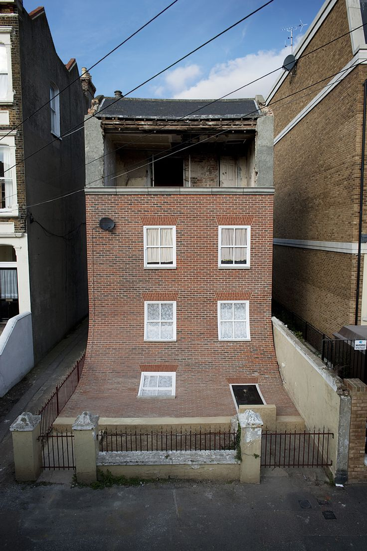 British artist and designer Alex Chinneck