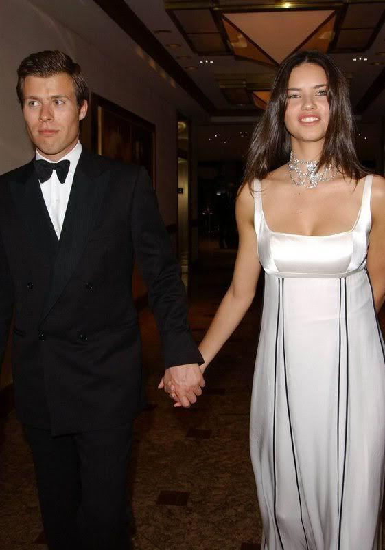 Prince Wenzeslaus of Liechtenstein and ex-gf Adriana Lima, they dated in 2003 - 2006.