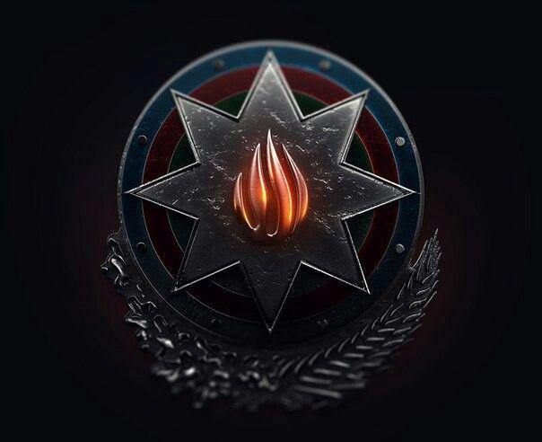 Azerbaijan Gerb National Emblem 01 10 23 59 Azerbaijan Flag Biblical Art Art