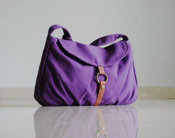 Sac à main, VENTE de Noël - violet, sac ordinateur portable, sac bandoulière, besace, bandoulière, sac d'école, les femmes, pour elle, cadeau, 40 % de RÉDUCTION
