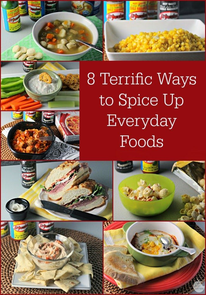 8 Ways to Spice Up Everyday Foods
