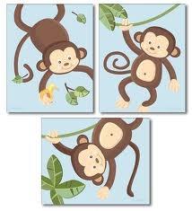 jungle nursery art - Google Search