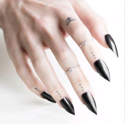 12 best tiny tattoo images on pinterest finger dot for Finger tattoo tumblr