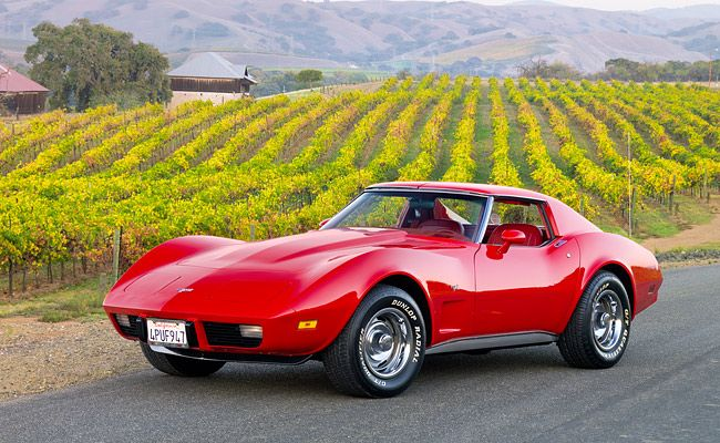 1977 Chevrolet Corvette....my mom had one just like this. I loved driving it.