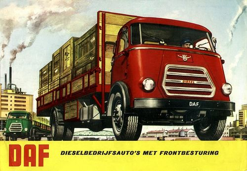 DAF truck1: