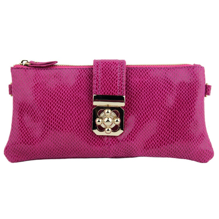 (FL001876) New Arrival Leather Packet Stylish Ms. Leather Packet Clutch Wallet [FL001876] - €57.25 : FashionLeap