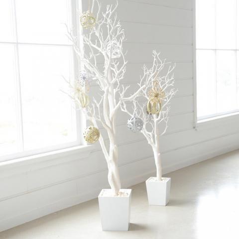 TREE White in Pot Small 90cm | Wheel&Barrow Homewares