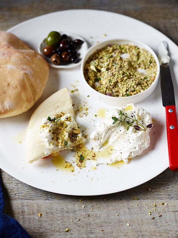 The Healthy Baker Pita Breads with Dukkah