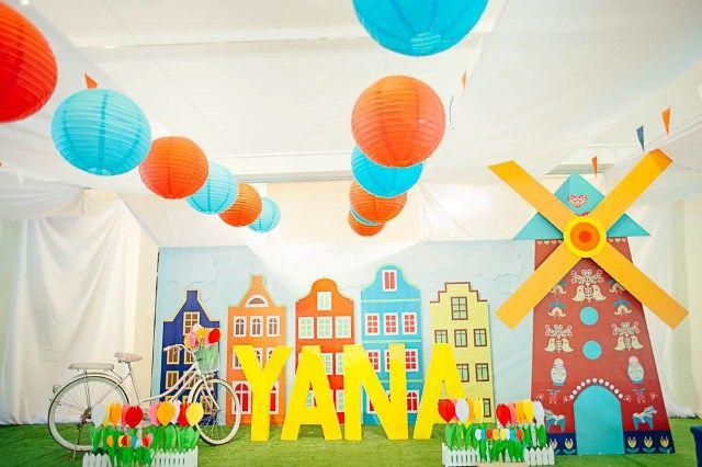 Yana's Dutch Themed Party – 1st Birthday - Party Doll Manila