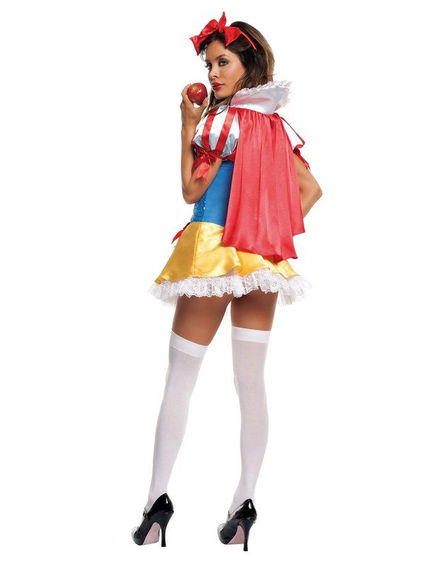 Sequin Snow White Sexy Costume