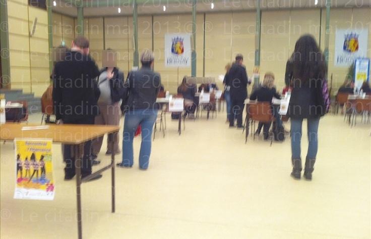 Bernay, une ville ma ville 2: À Bernay forum emploi Rencontres alternance mai 2013...