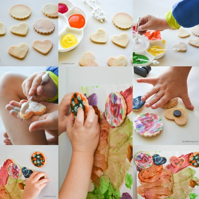 Mothers Day Salt Dough Magnets with FREE Recipe Printable