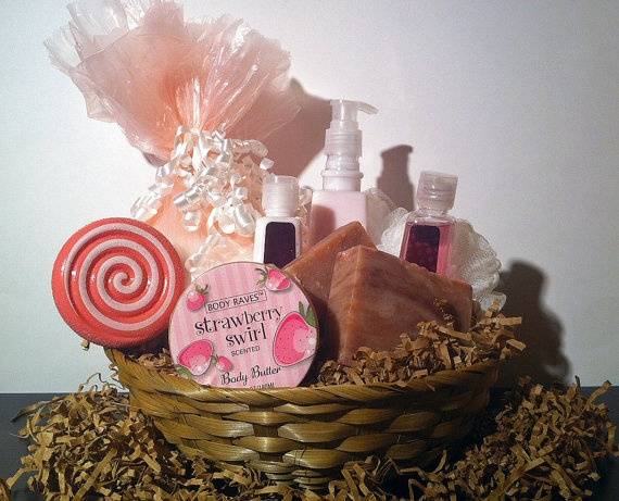 Valentines Day Gift Basket Gifts For Her Bath Body Beauty Baskets Valentine  Birthday Sweetheart