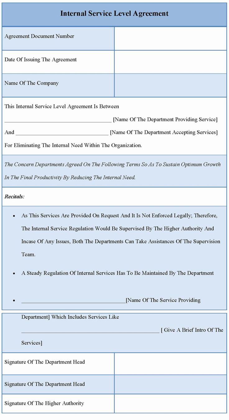Internal Service Level Agreement Template Best Of 41 Clean Service Level Agreement Sample Io U Service Level Agreement Agreement Templates Free Design It service level agreement template