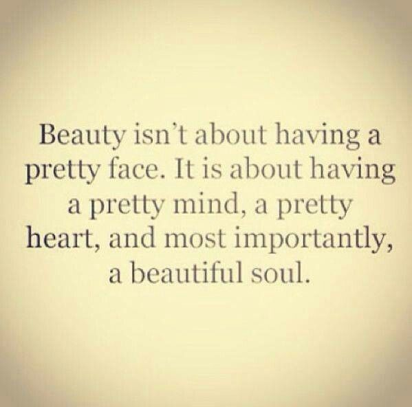True beauty | Quotes Worth Sharing | Pinterest