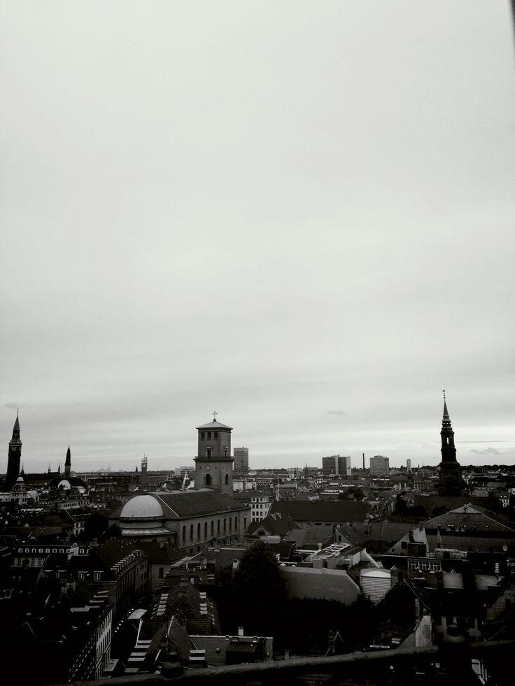 Copenhagen skyline, Denmark June, 2013