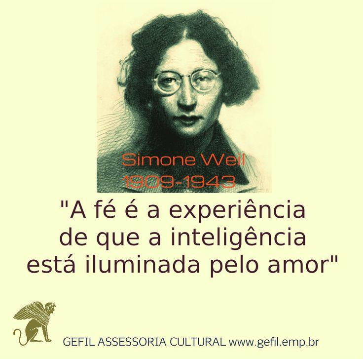 Simone Weil - amor