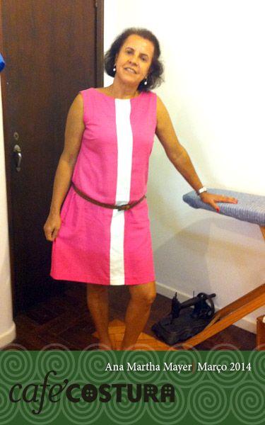 Do jeito que a gente gosta! Ana Martha faz num dia e vem se exibir no outro de roupa nova!