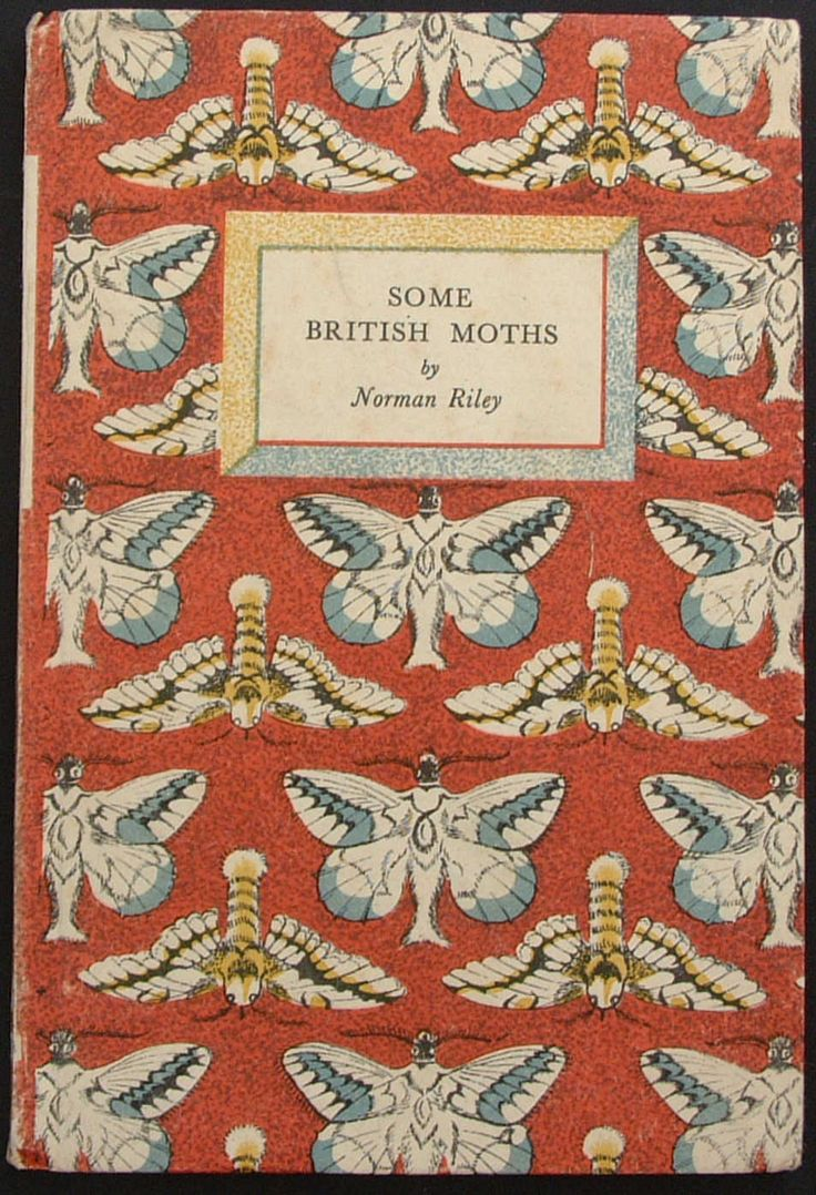 King Penguin 18 • SOME BRITISH MOTHS • Author: Norman Riley • Cover Design: Enid…